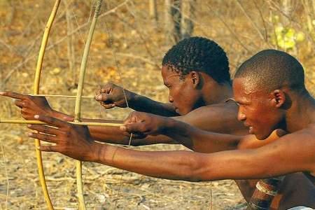 gudigwa bushmen huntingdobe