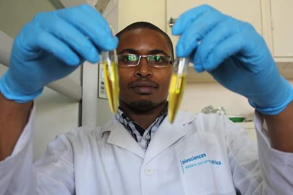 Staff at work in the Food & Nutritional Evaluation Laboratory,  BeCa-ILRI Hub Nairobi, Kenya
